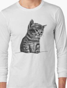 Wilbur The Kitten Long Sleeve T-Shirt