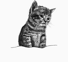 Wilbur The Kitten Womens Fitted T-Shirt