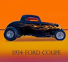 1934 Ford Coupe - Profile w/ID by DaveKoontz