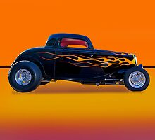 1934 Ford Coupe - Profile w/o ID by DaveKoontz