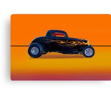 1934 Ford Coupe - Profile w/o ID Canvas Print