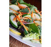 Fresh Vegetable Salad on Angle Photographic Print