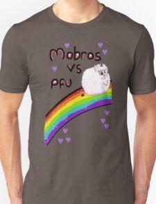 Pink fluffy unicorns Mobro  T-Shirt