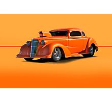 1936 Chevy Coupe Pro Mod w/o ID Photographic Print