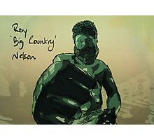 Roy 'Big Country' Nelson Photographic Print