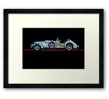 1950 Allard XJ  - 2 Roadster w/o ID Framed Print