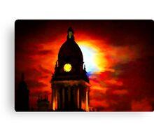 Leeds Town Hall Canvas Print