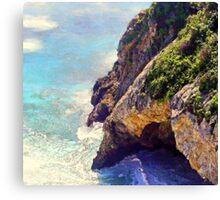 Big Sur Sea Cave - Big Sur, CA Canvas Print