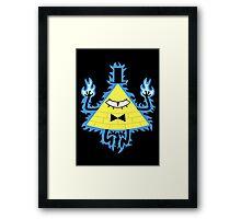 Mad Bill Framed Print