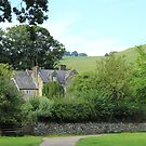 Old Cottage at Ilam in Derbyshire by Blayde666