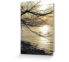 A classic summer sunset Greeting Card