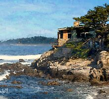 Carmel Bay Beach House by JimPavelle