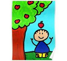 Happi Arti 6 - Sir Isaac Newton Art  Poster