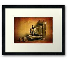 Goliath vs David Framed Print