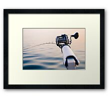 Fishing Rod Framed Print