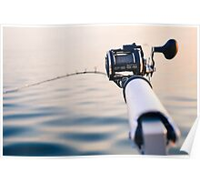 Fishing Rod Poster
