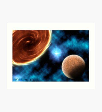 21-12-2012 Art Print