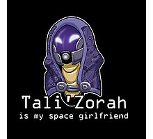 Tali is My Space Girlfriend Photographic Print