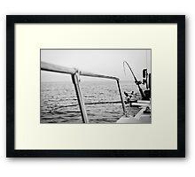 Fishing rods Framed Print