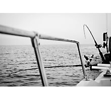 Fishing rods Photographic Print