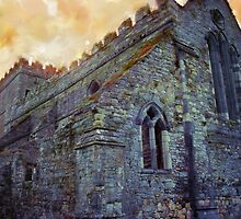 Stone Church - Ireland Series by JimPavelle