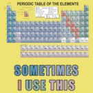 Periodic Table of Elements by pixelman
