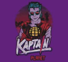 Kaptain Planet after Dark T-Shirt