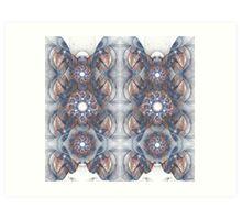Foci Pattern Art Print