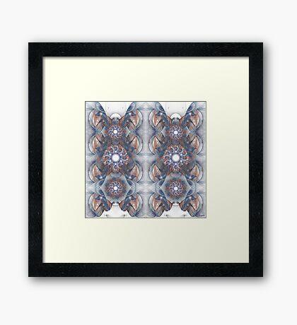 Foci Pattern Framed Print