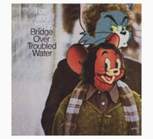 Tom and Jerry - Bridge Over Troubled Water Kids Tee
