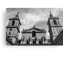 Spanish church Metal Print