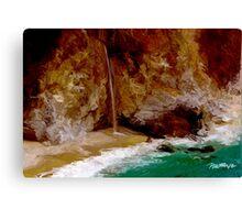 McWay Falls II - Big Sur, CA Canvas Print