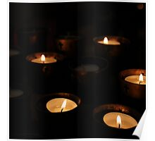 Church Candles Poster