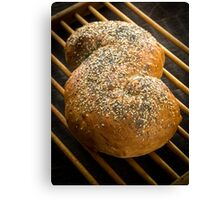 Fresh Baked Loaf of Bread Canvas Print