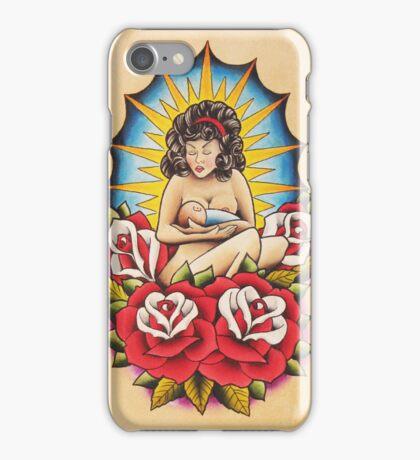 Breast Feeding Mom iPhone Case/Skin