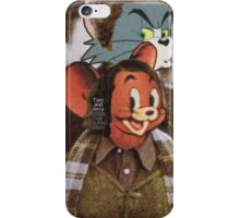 Tom and Jerry - Bridge Over Troubled Water iPhone Case/Skin