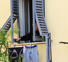 Shutters & Laundry by Francis Drake