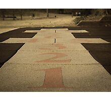 Hopscotch Anyone? Photographic Print