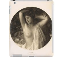 A Nymph by Frank Dicksee Nubile Maiden 1912 iPad Case/Skin