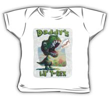 Daddy's Lil' T Rex Baby Tee