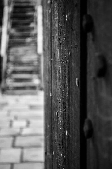 Walking through the door by Jonathan Evans