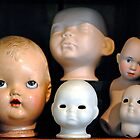 Doll Heads (horizontal) by MarjorieB