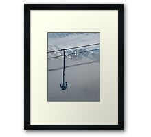 Silent Ascent Framed Print