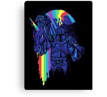 how to make a rainbow Canvas Print