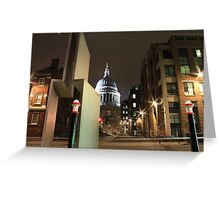 London / St. Pauls , England, UK * Greeting Card