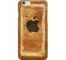 Toast iPhone Case with burnt Apple logo iPhone Case/Skin