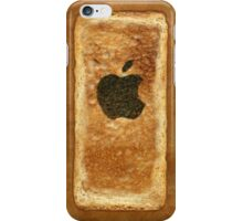 Toast iPhone Case with burnt Apple logo iPhone Case/Skin