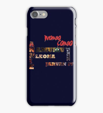 Wombo Combo iPhone Case/Skin
