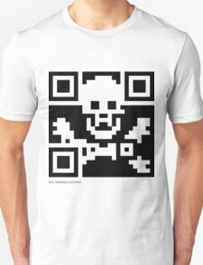 QR Code - Pirate flag T-Shirt
