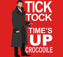 Captain Hook - Tick Tock Unisex T-Shirt